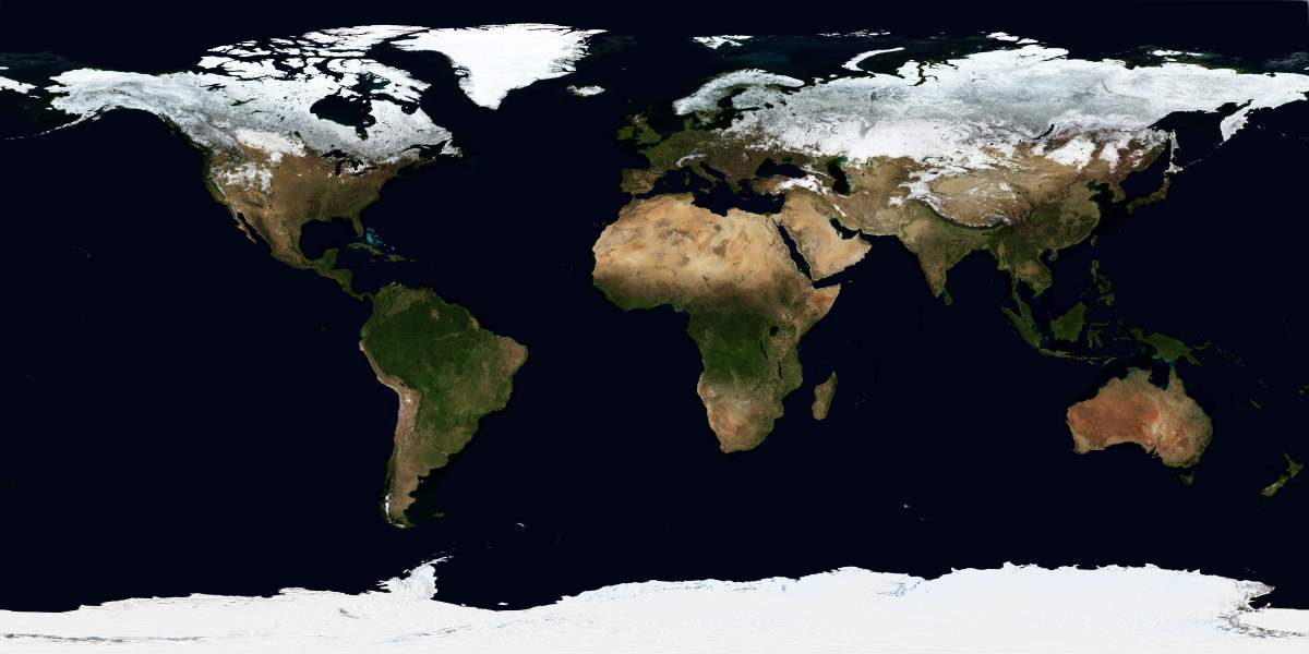Snow cover of Earth