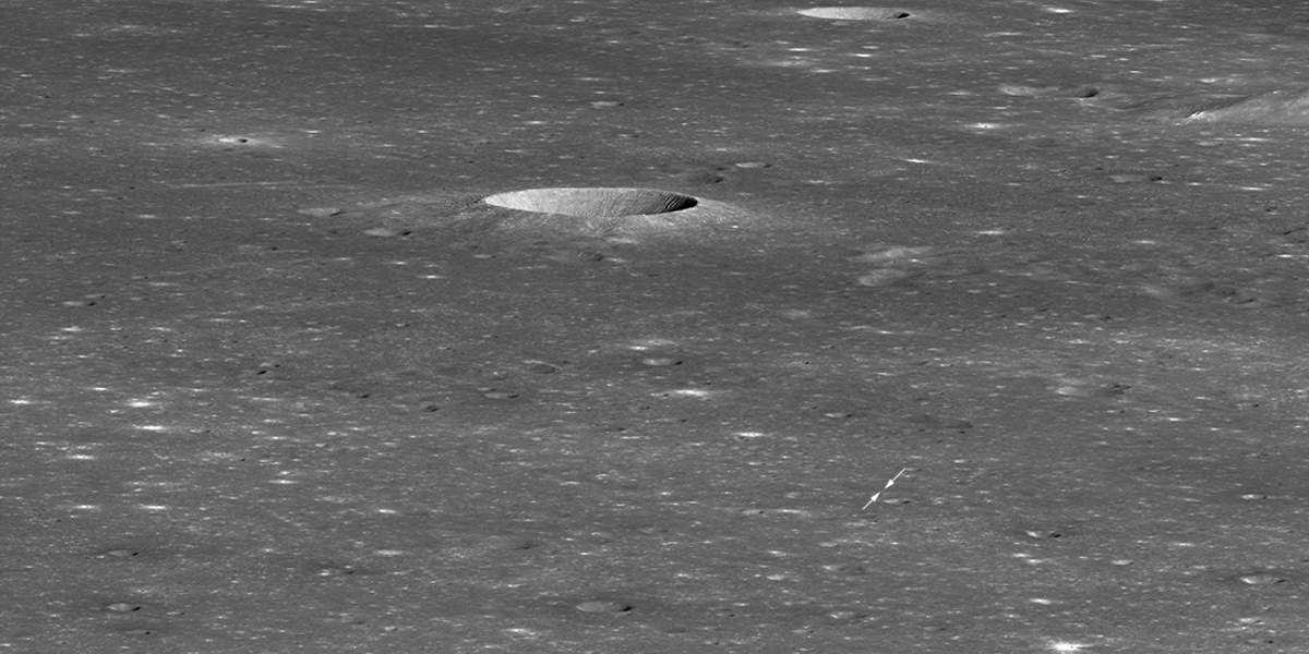 Chang'e-4 from LRO (January 30, 2019) (cropped)