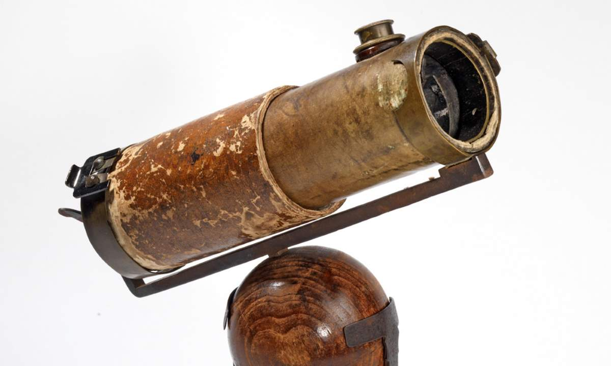 Isaac Newton's reflecting telescope of 1671