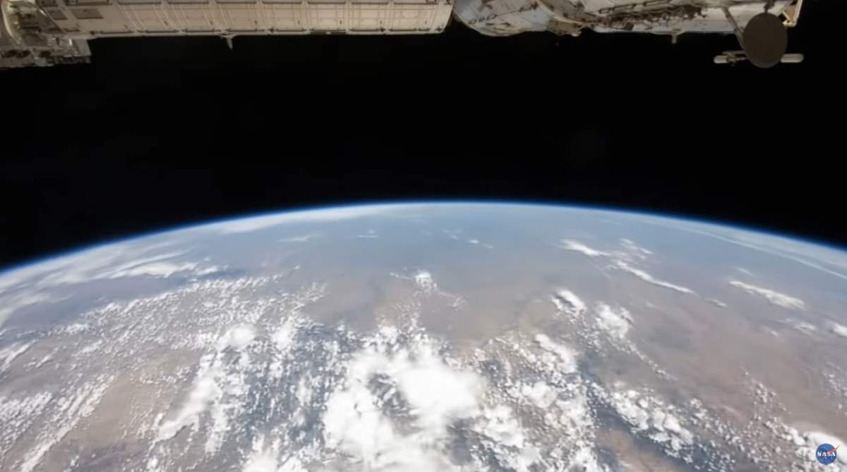 Earth from ISS, 2011
