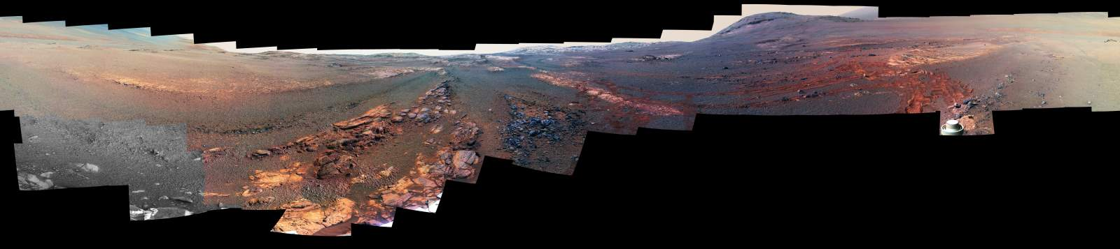 Opportunity Parting Mars Panorama