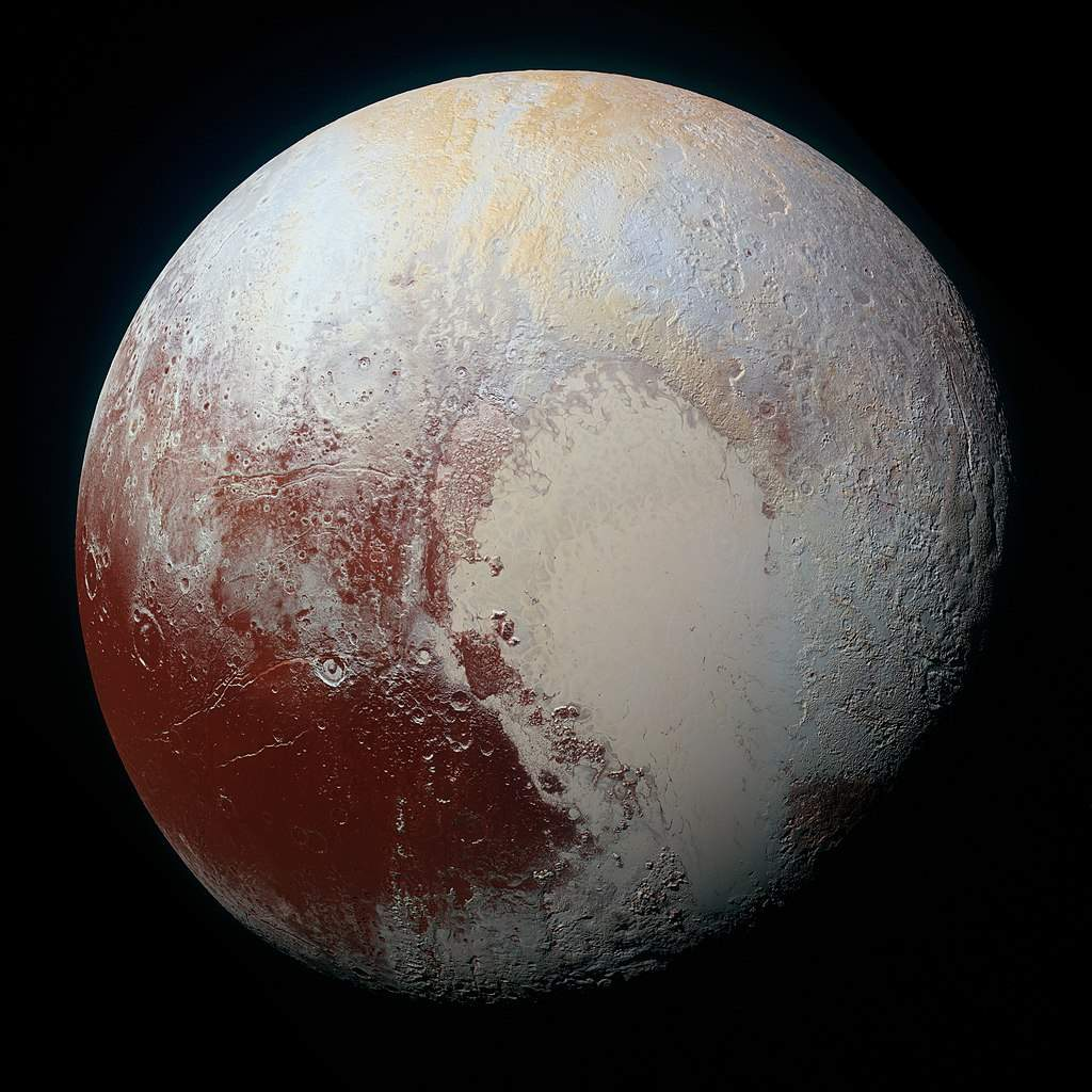 Top 20 Exciting Advances in Space Science in the 2010s: Pluto image by New Horizons