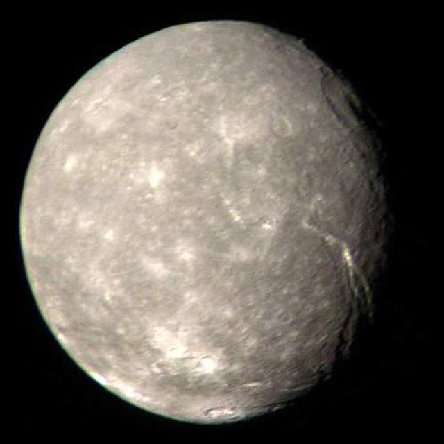 Top 10 largest non-planets in our solar system: Titania