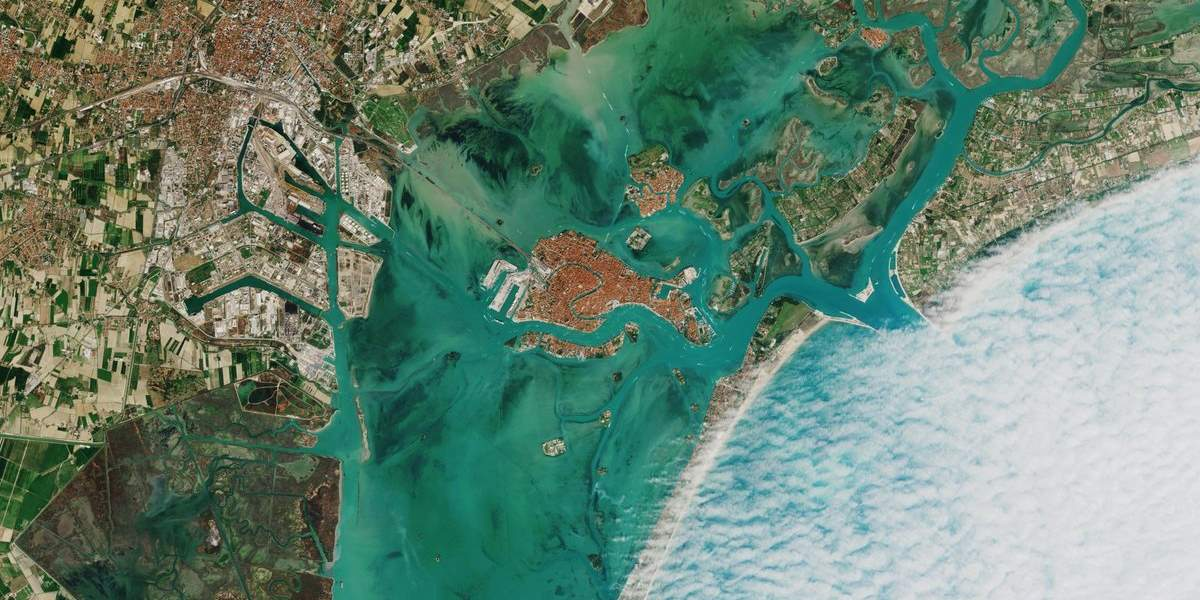 Venice from space (cropped)