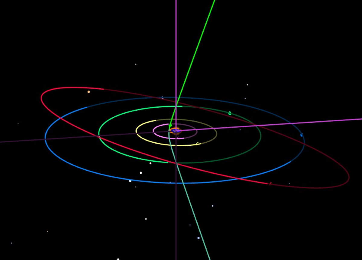 The orbit of C/2019 Q4 (Borisov)