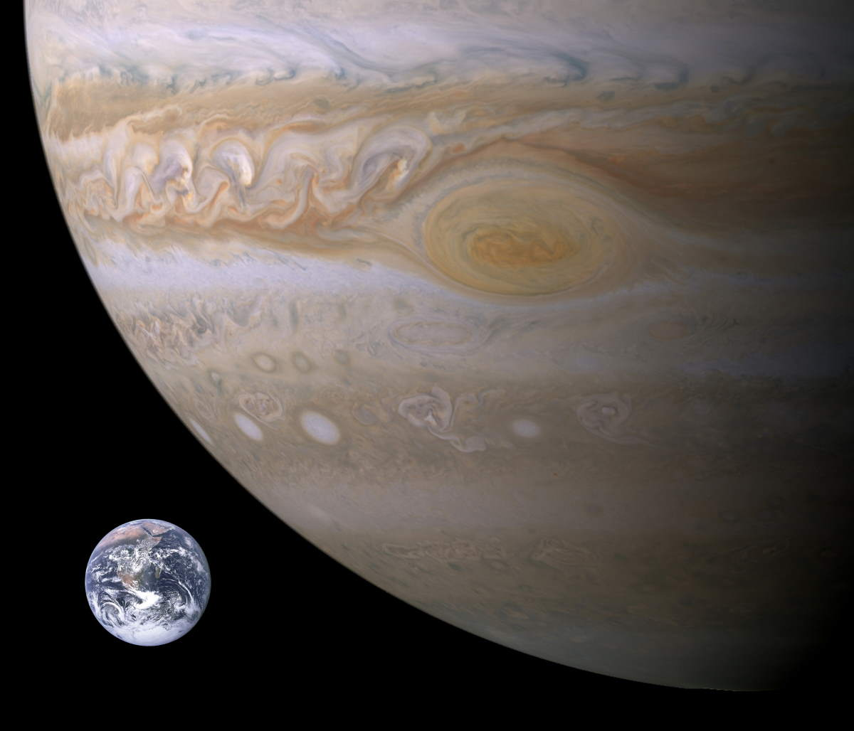 Jupiter's Great Red Spot is the largest hurricane in Solar System