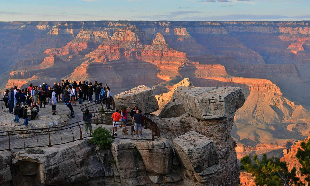 Overtourism at the Grand Canyon