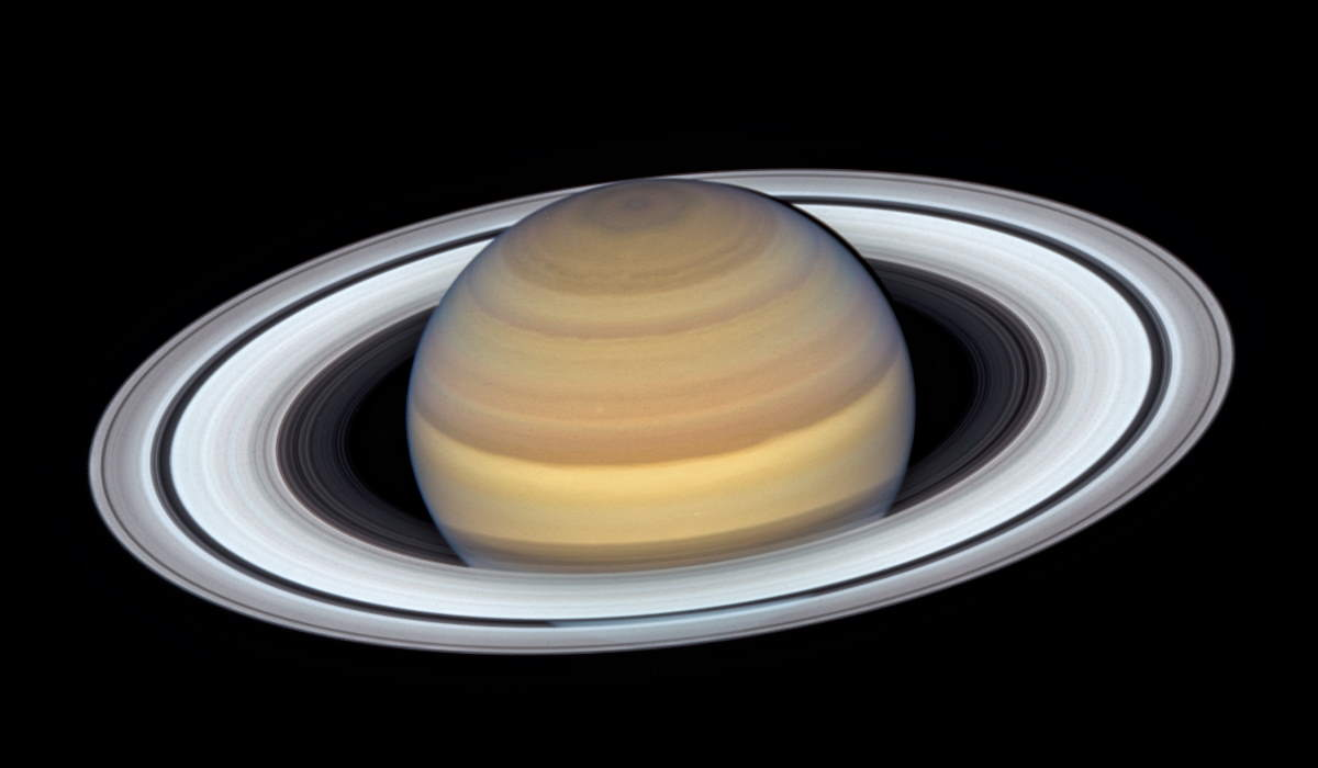 Hubble's Latest Portrait of Saturn (June 20, 2019)