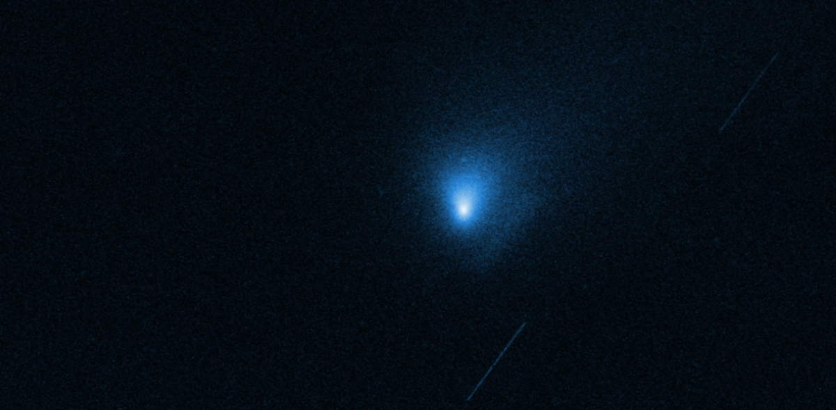 Hubble image of 2I/Borisov