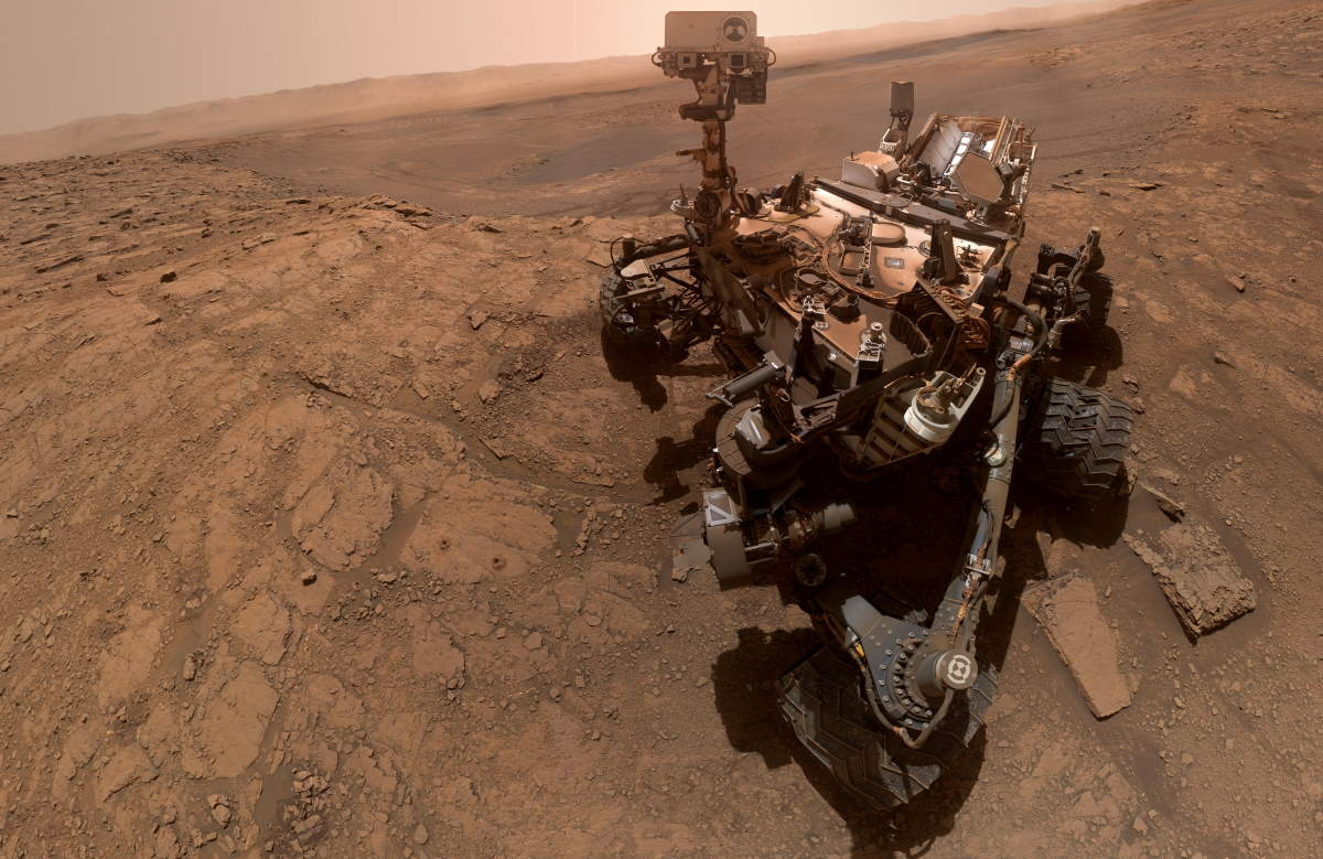 Curiosity Rover selfie (October 11, 2019)