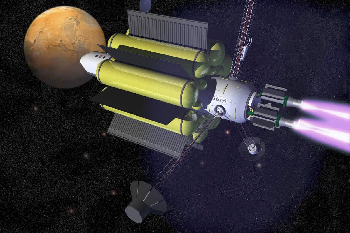 VASIMR spacecraft