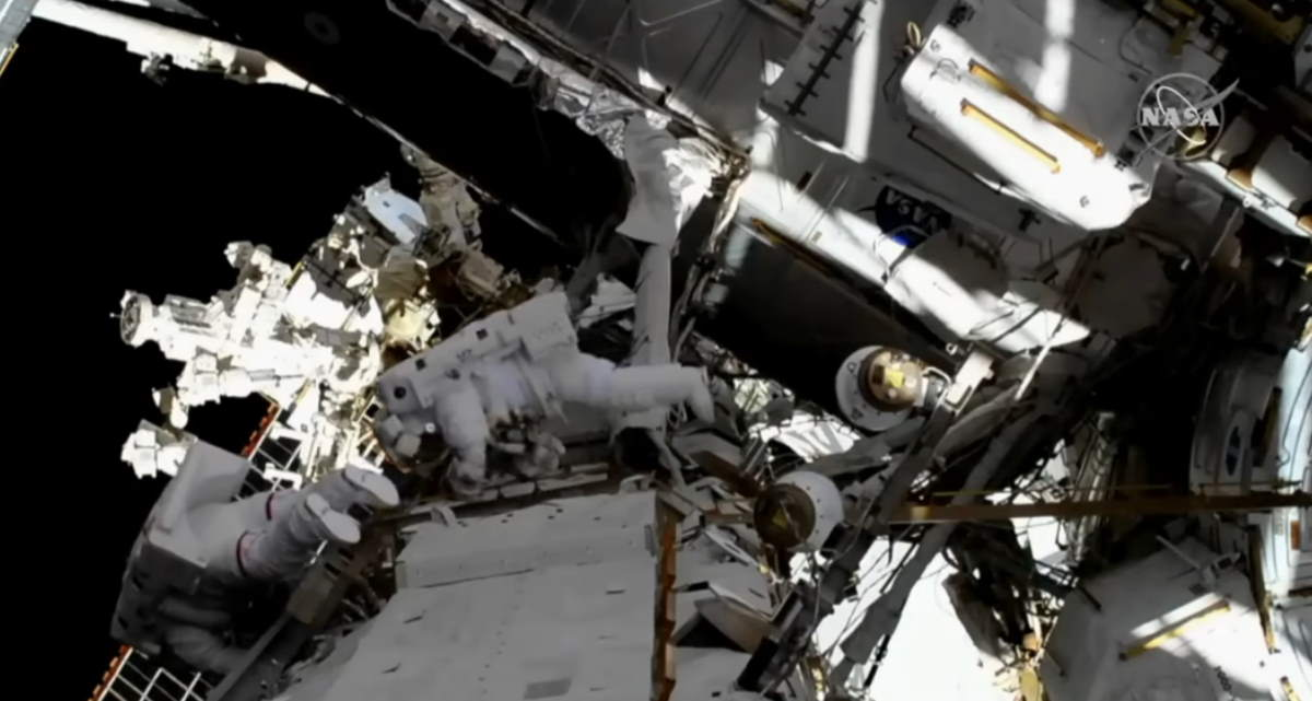 First-ever all-female spacewalk