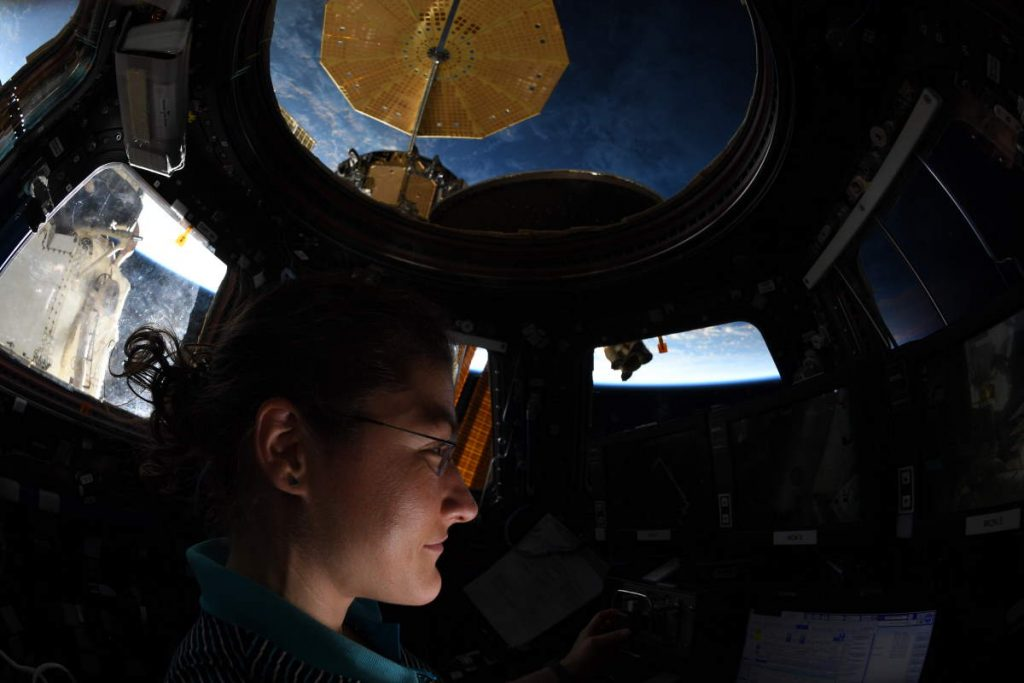 "Christina Koch broke the ""longest spaceflight by a woman"" record"