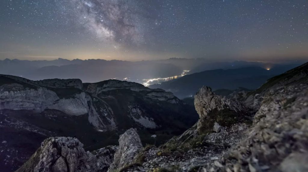 Milky Way from Mount Pilatus
