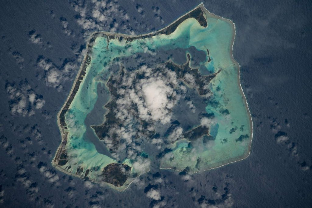 Most beautiful Earth photos from ISS in 2019 - Bora Bora