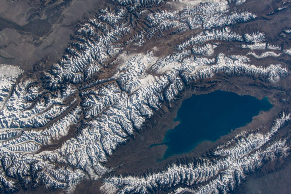Most beautiful Earth photos from ISS in 2019 - Issyk-Kul