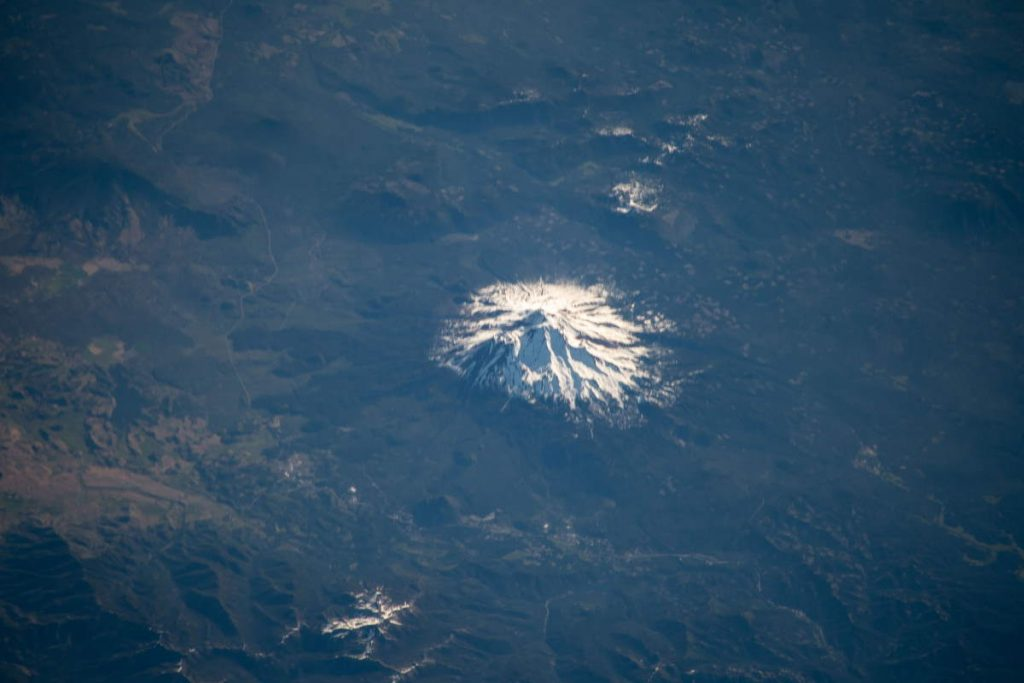 Most beautiful Earth photos from ISS in 2019 - Mount Shasta