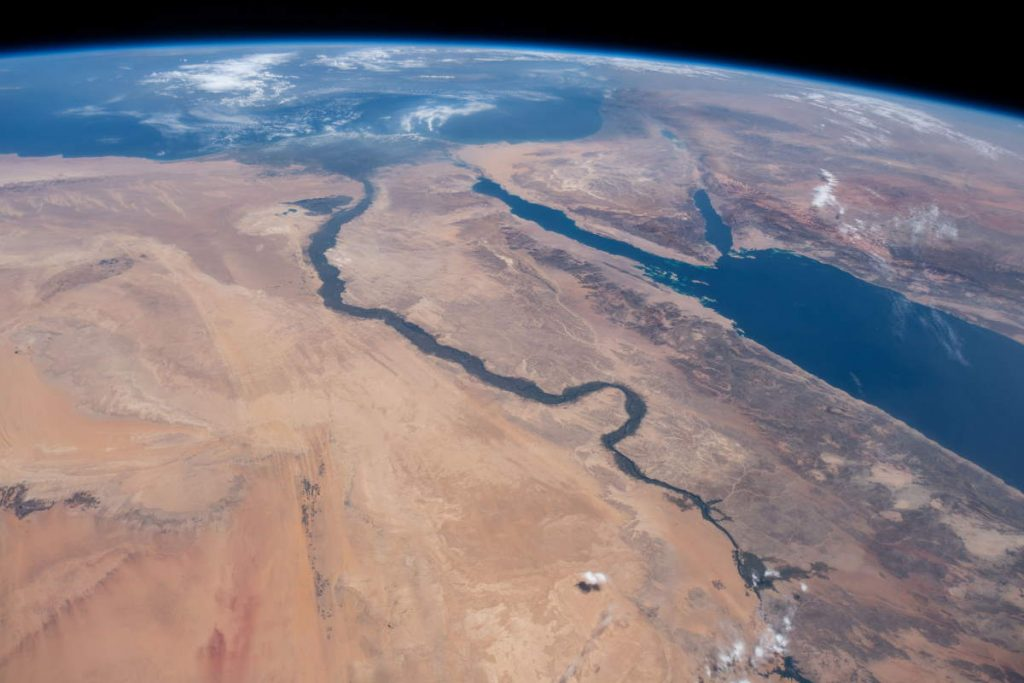 Most beautiful Earth photos from ISS - Nile River (June 10, 2019)