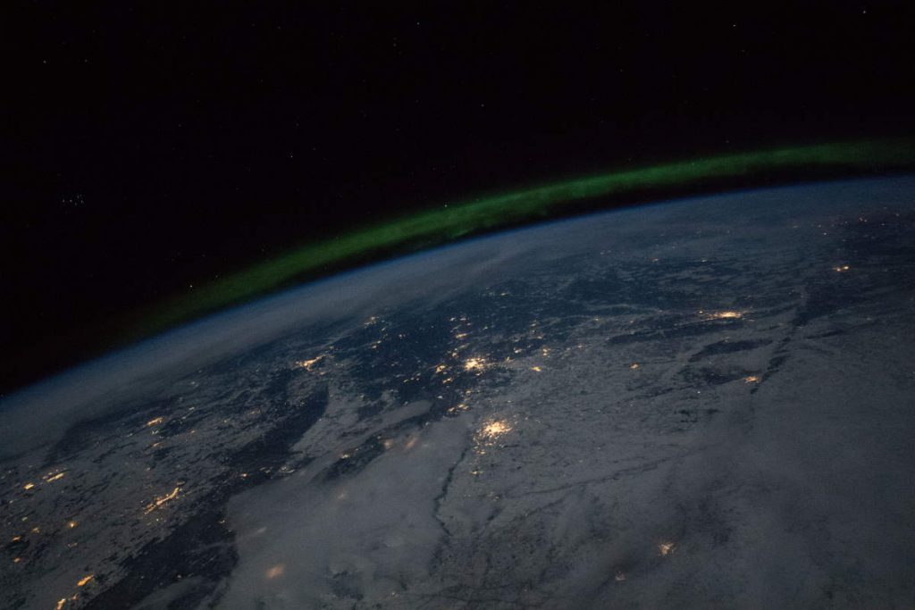 Most beautiful Earth photos from ISS - City lights and the aurora over Russia and Kazakhstan