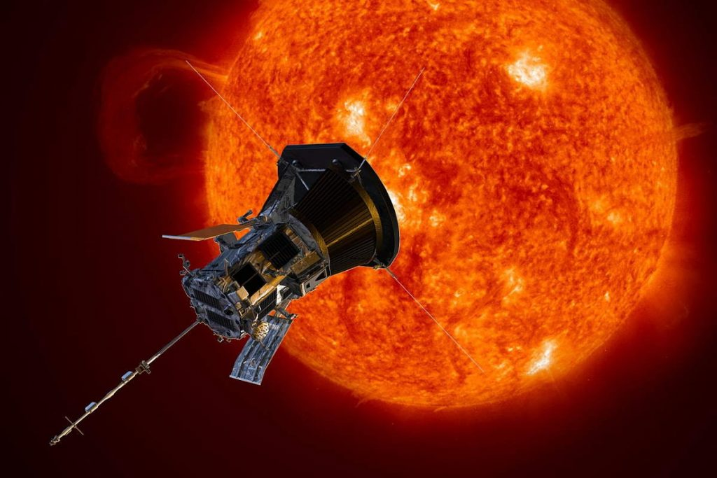The fastest human-made object: Parker Solar Probe