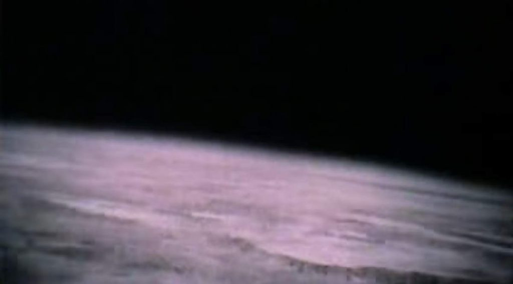 The first footage of Earth from space (1946)