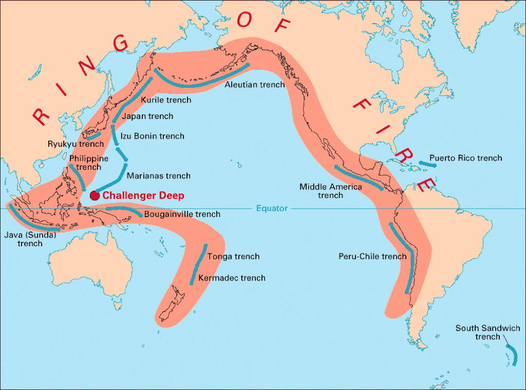 Geothermal Energy - Pacific Ring of Fire
