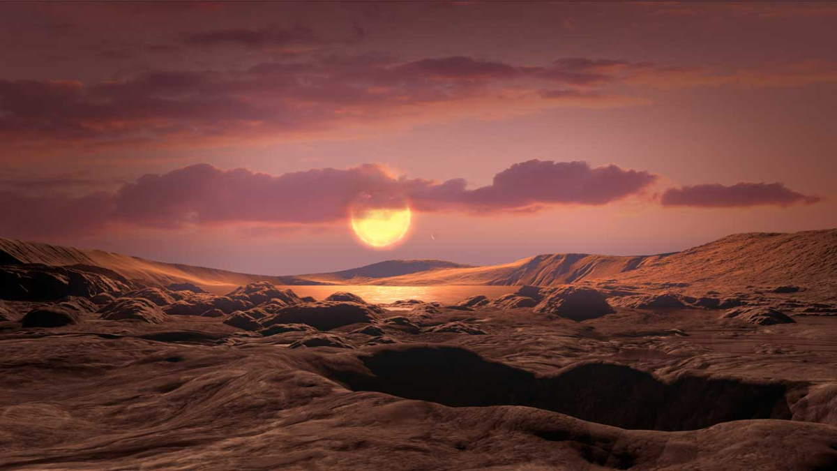 Kepler-1649c artist conception