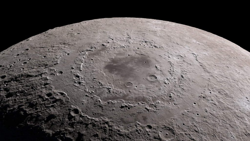 Moon rocks could help reveal how life evolved on Earth: The South pole of the Moon