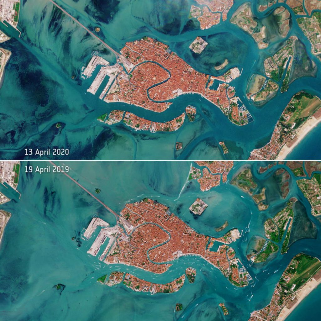 Venice from Space, 2019-2020