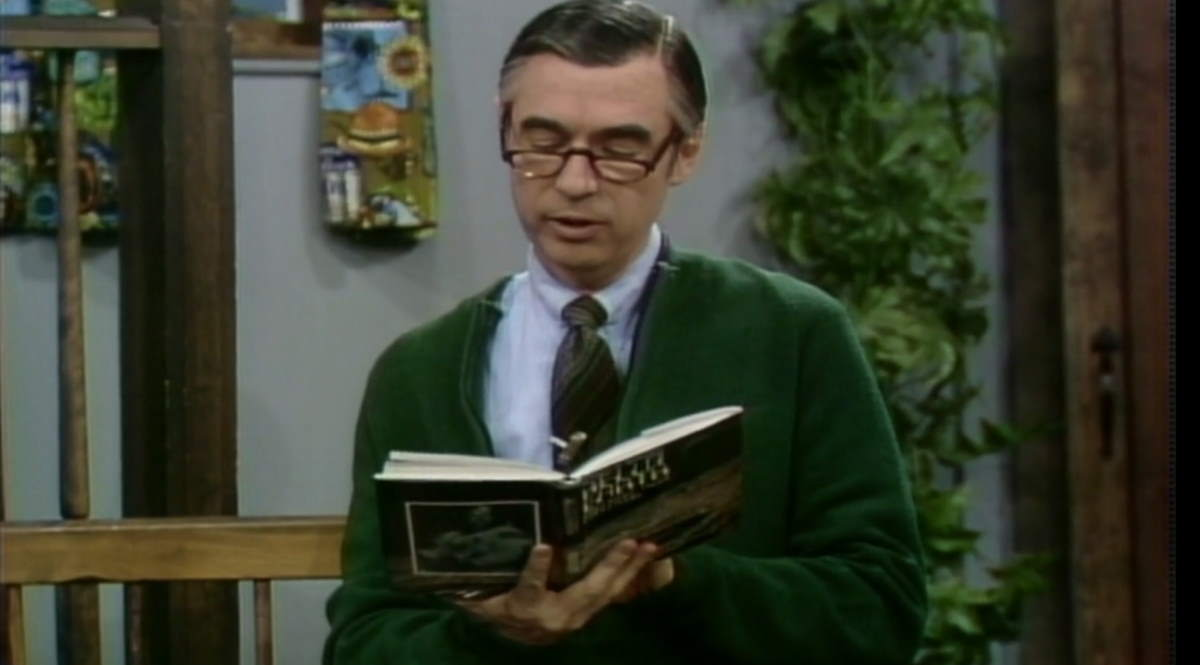 Fred Rogers reads Al Worden's poems