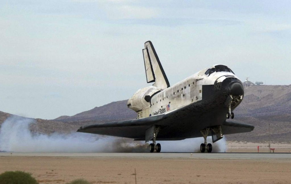 How to land the Space Shuttle... from space?