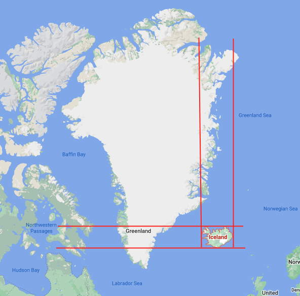 Fun Geography facts - Greenland and Iceland