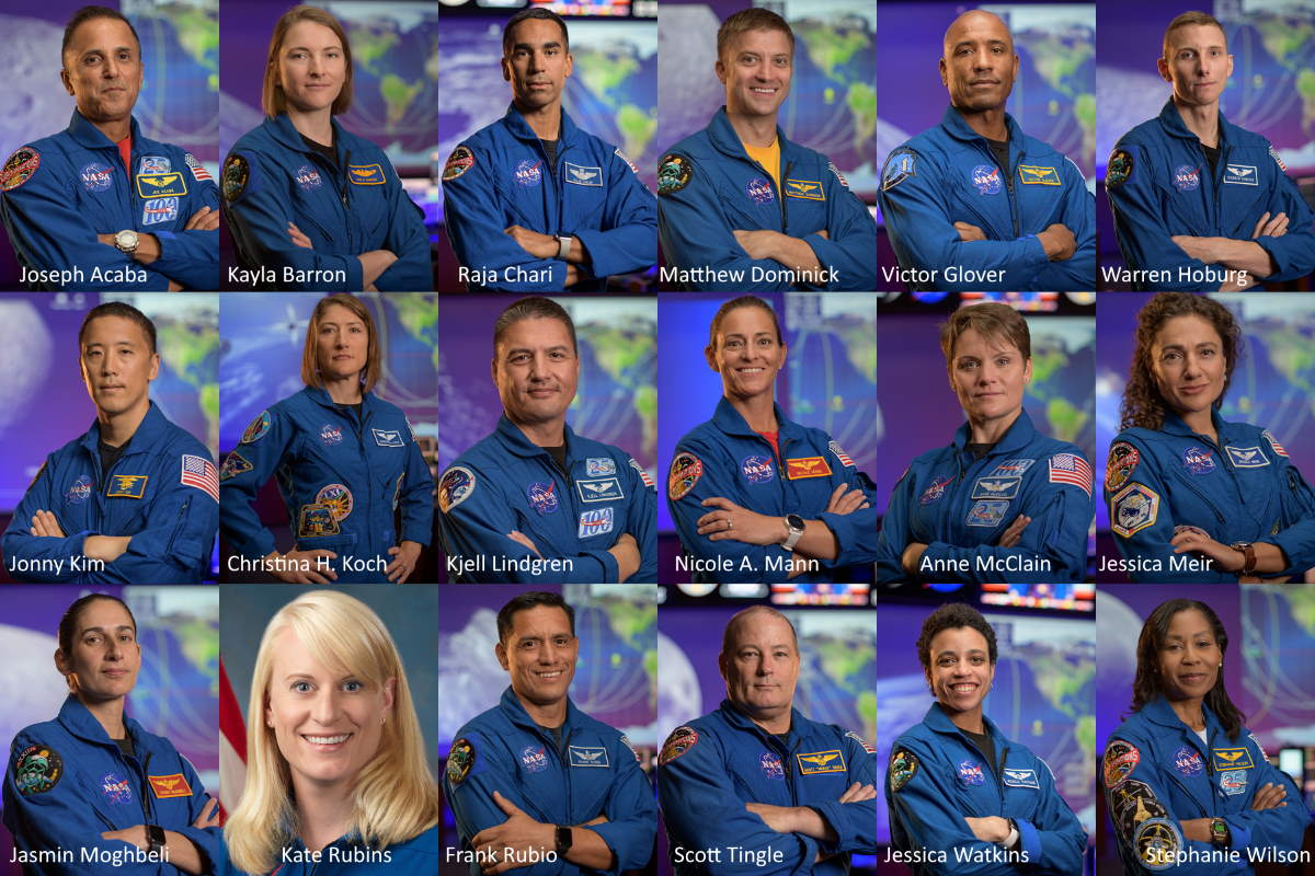 NASA Artemis Team - Future moon landing astronauts - one of them will be the first woman on the Moon