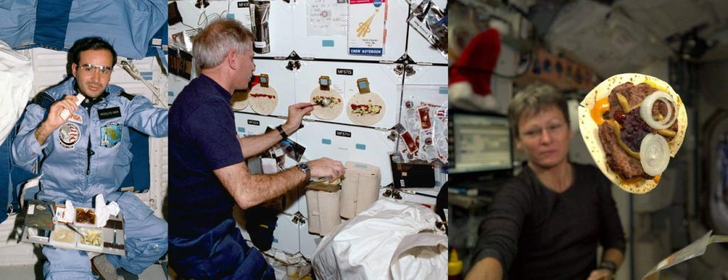 What do astronauts eat? Space Shuttle & ISS