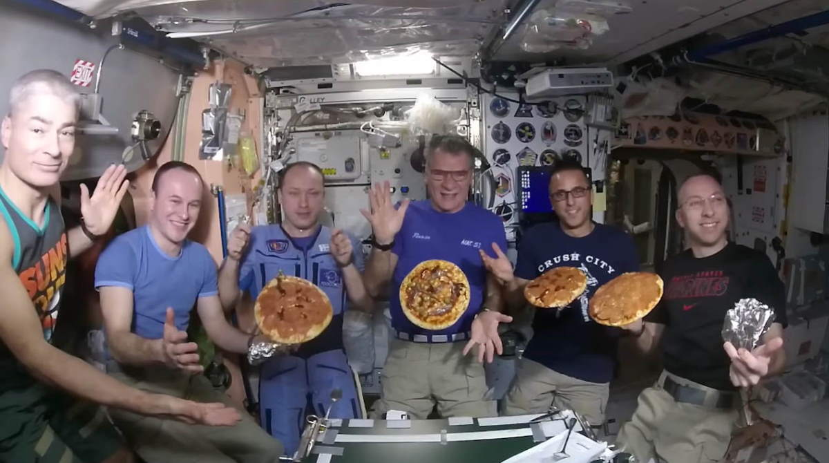What do astronauts eat?