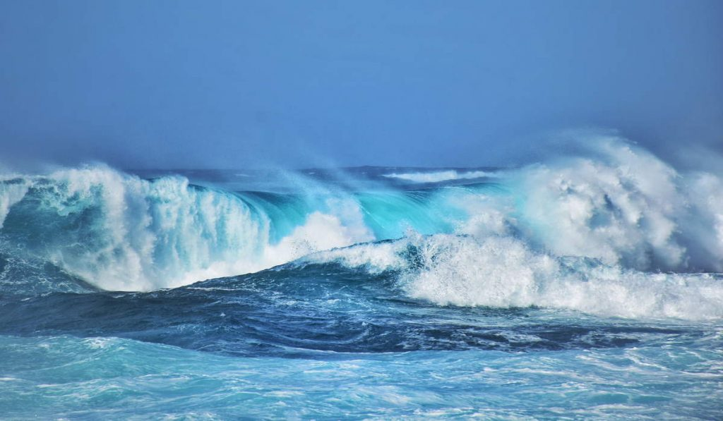 Waves are just another source of information for marine weather forecasts