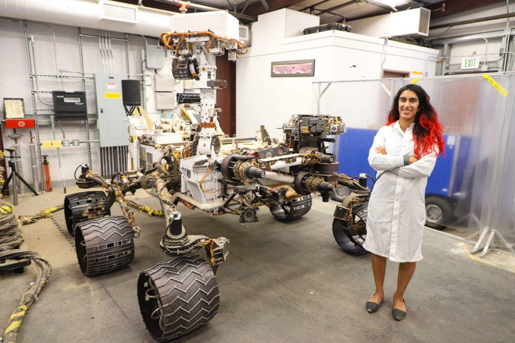 How to find a well-paid job with having a space science degree: Farah Alibay