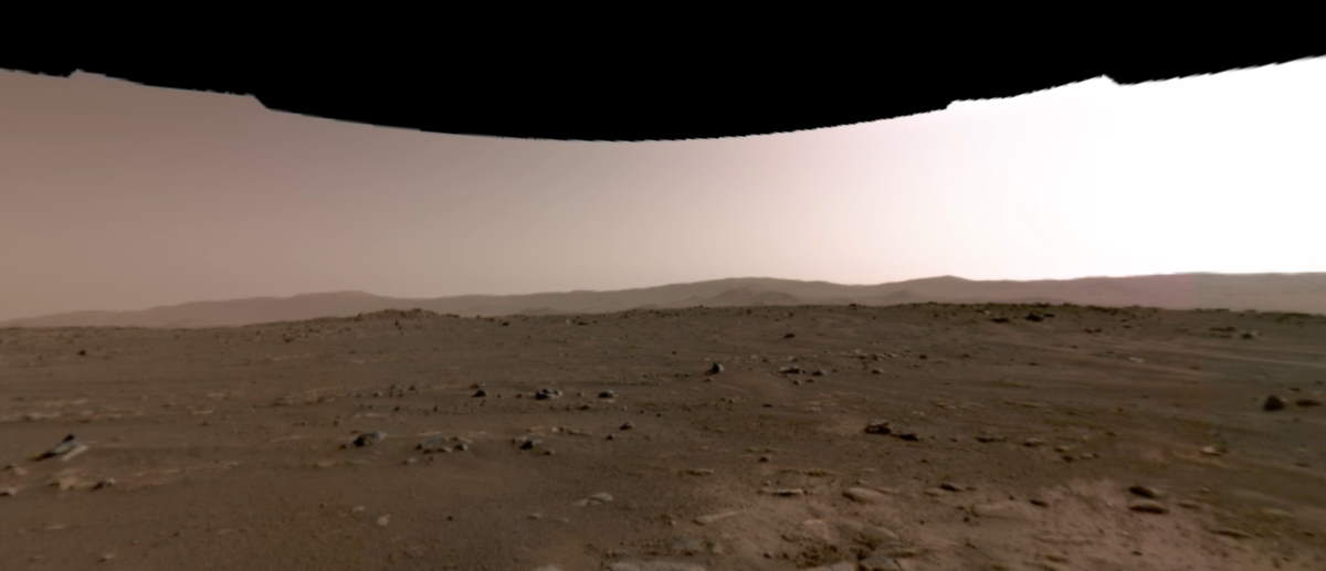 Perseverance Rover's first 360-degree view of Mars