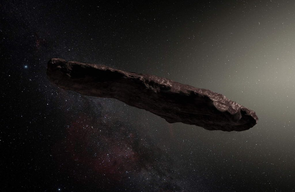 Oumuamua - an alien spaceship? Probably not.