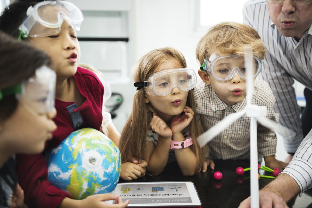Helping children thrive with fun science activities