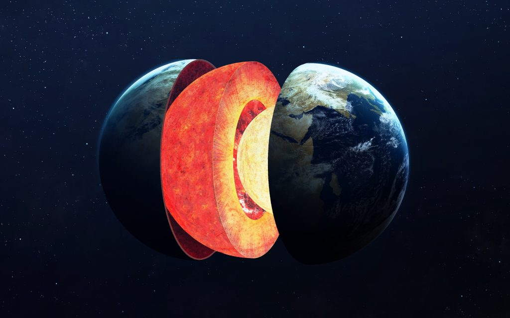 Measuring Meteorites to Reveal the Origins of the Earth - Structure of Earth